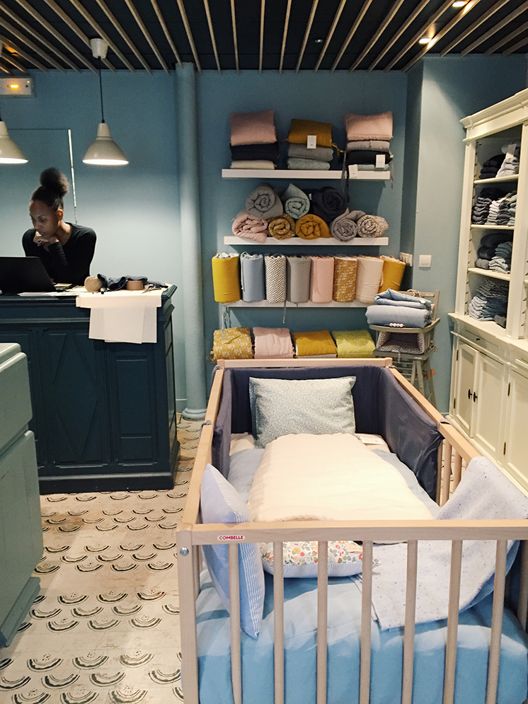 Baby shop tour of Paris