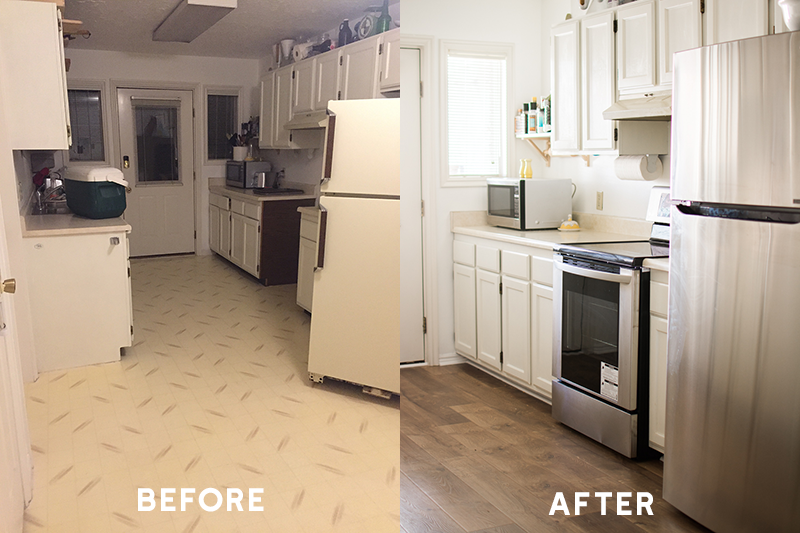 Bringing the Outdoors into our mountain home with our New Flooring
