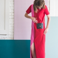 DIY Tromp L'oeil Dress