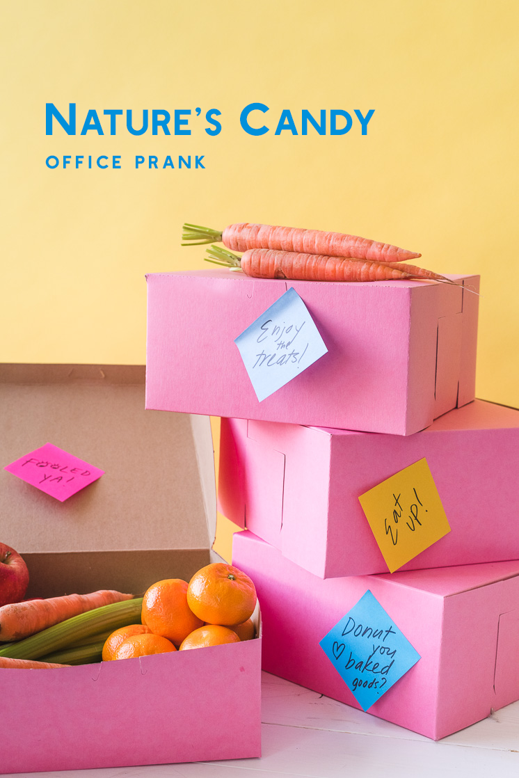 Nature's Candy Office Prank