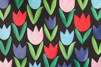 Paper Tulip Backdrop