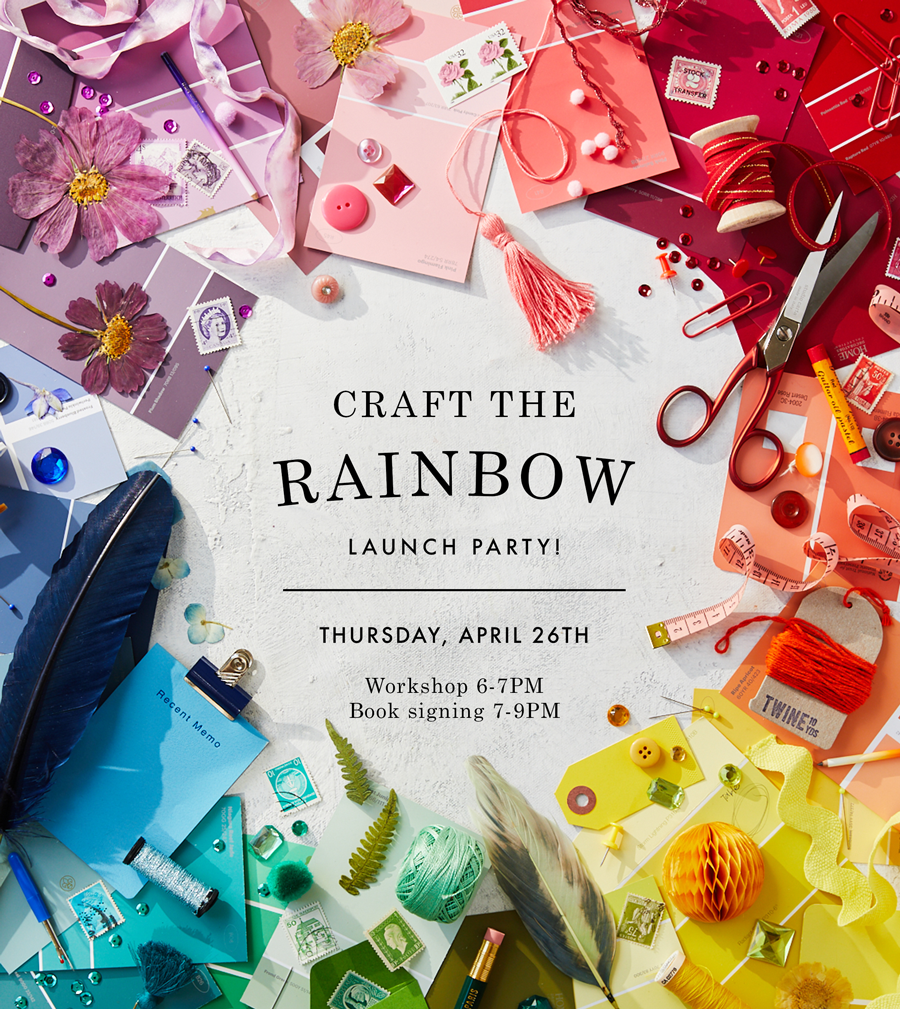 Craft the Rainbow launch party