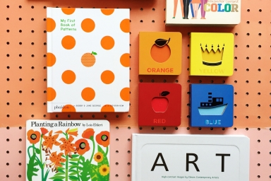Artful board books for babies