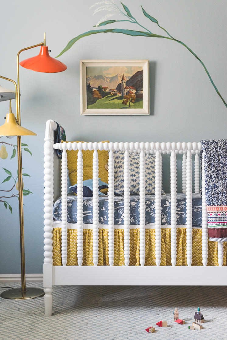 Diy Crib Skirt And Mattress Giveaway The House That Lars
