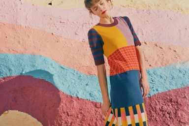 Rainbow Gucci dress
