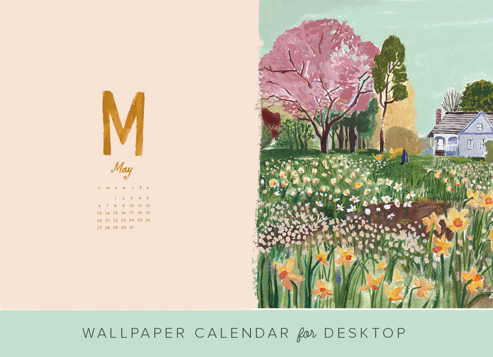 April 2018 Wallpaper Calendar