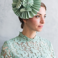 Three DIY Paper Fascinators