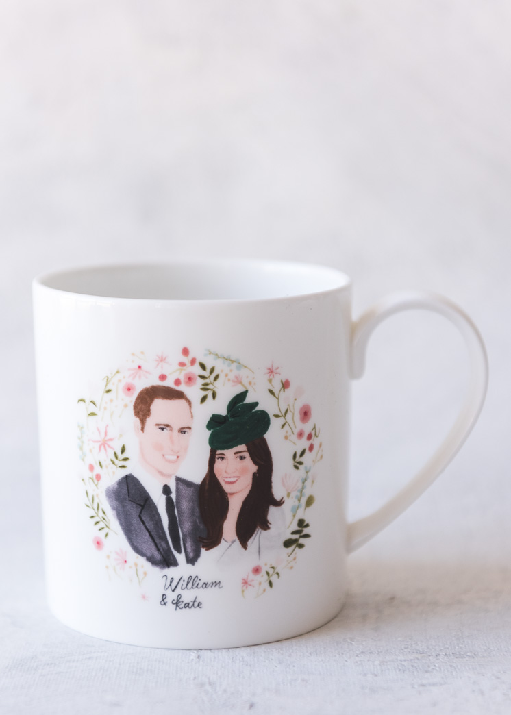 Royal wedding commemorative souvenirs