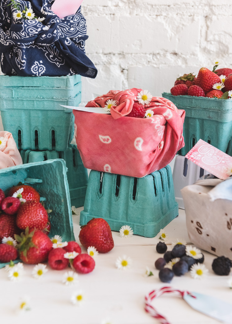 Bandana Berry Baskets