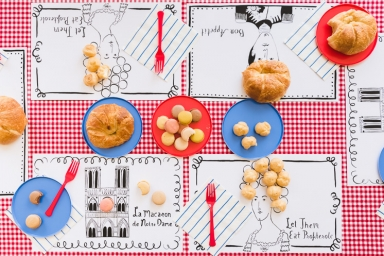 Printable Parisian Placemats