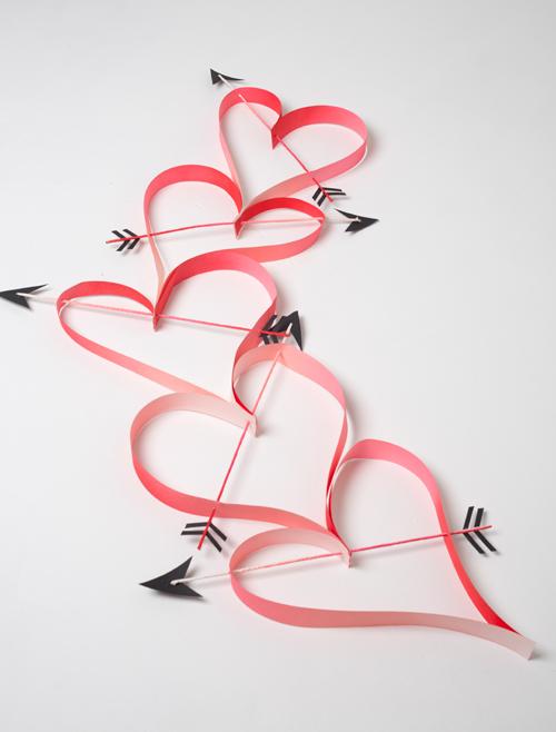 Oversized heart chain
