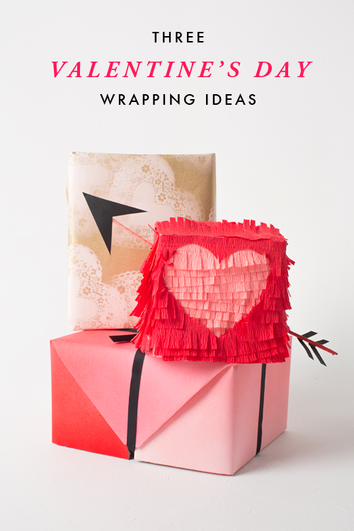 3 Valentine's Day wrapping ideas