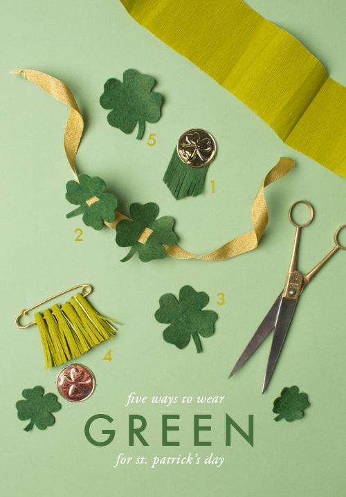St. Patrick's day green ideas