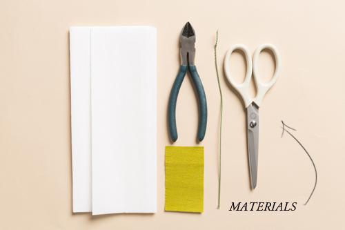 materials paper flower