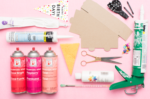 materials for birthday party kit