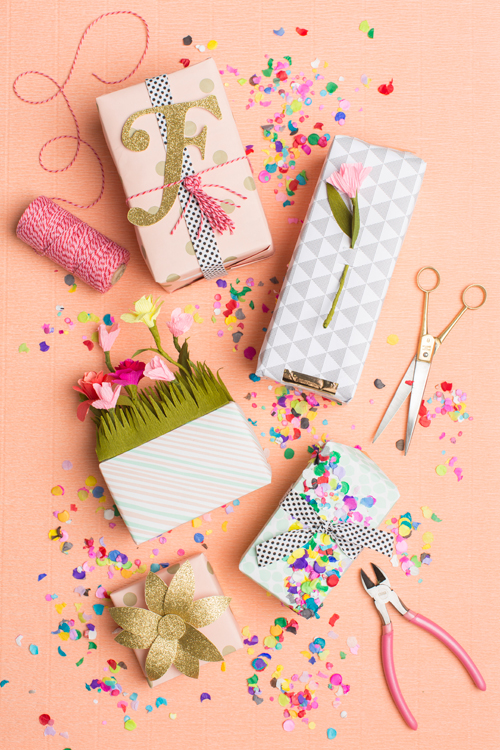 5 ways to gift wrap for spring