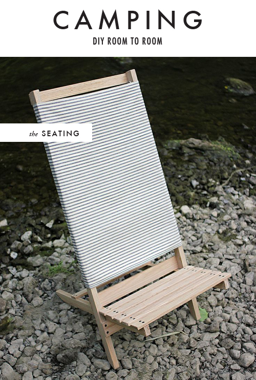 DIY beach/camp chair