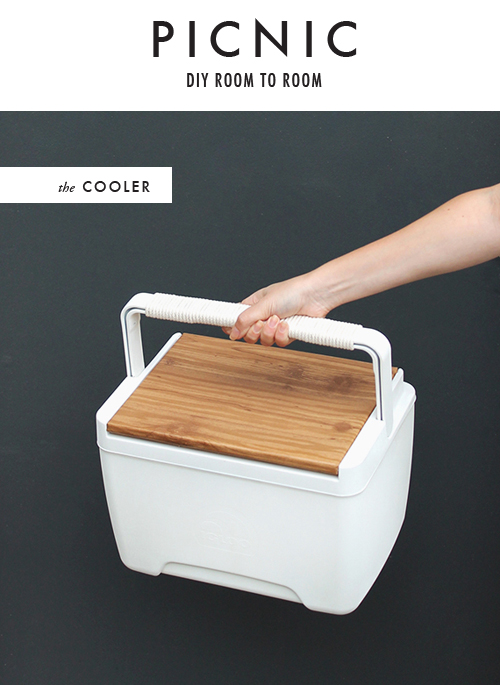 cooler makeover by Almost Makes Perfect