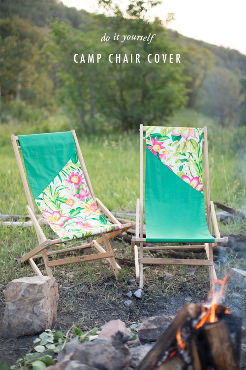 Diy Camp Chair Cover The House That Lars Built