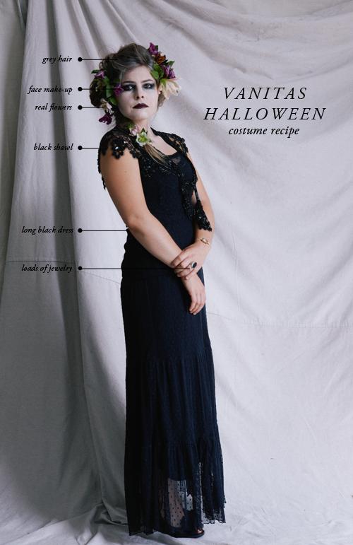 Vanitas Halloween costume recipe.