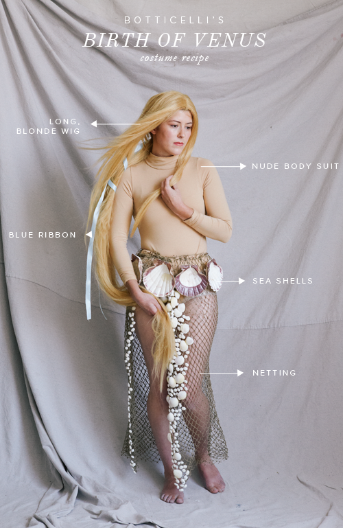 Birth of Venus Halloween costume