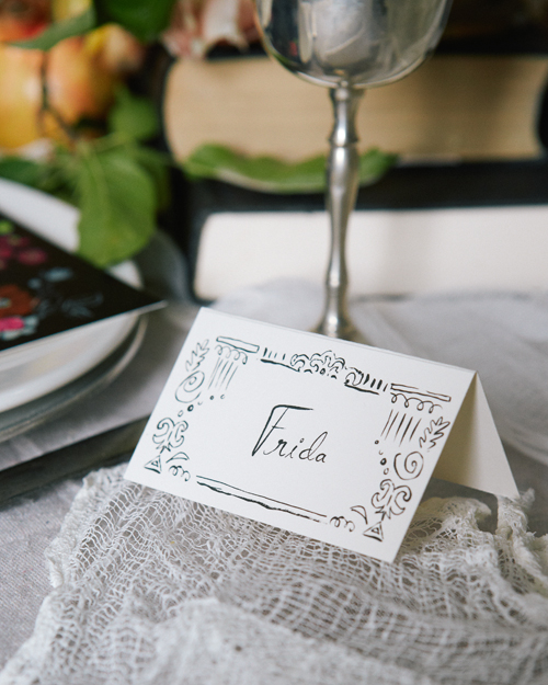 Free Printable Name Tags For Your Dinner Party Place Settings