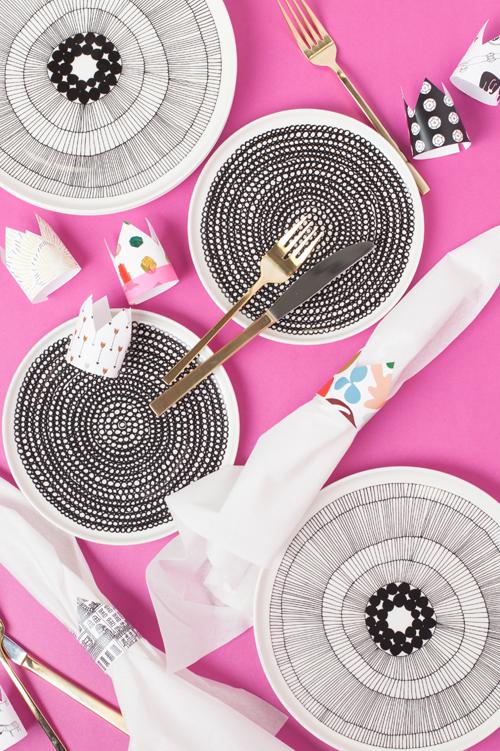image regarding Printable Napkin Rings identify Printable napkin rings - The Space That Lars Designed