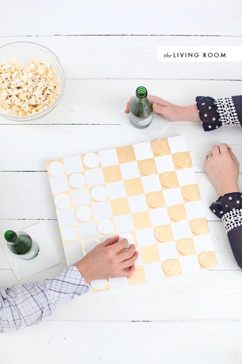 DIY checkers