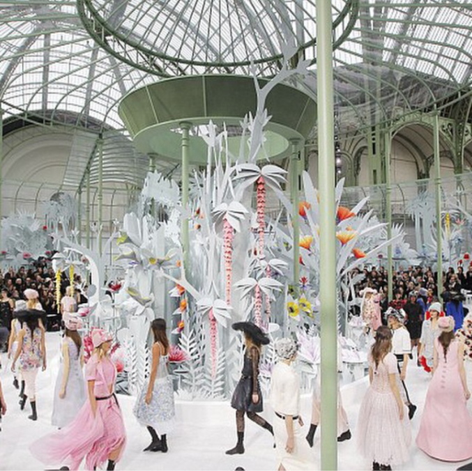 Chanel Spring Haute Couture 2015