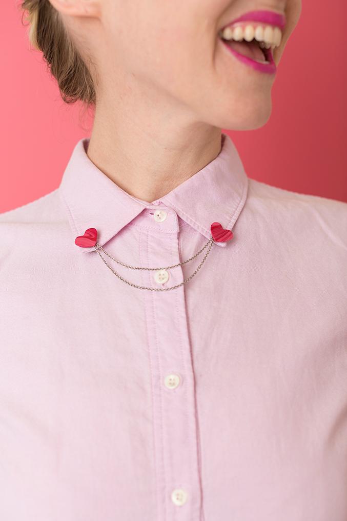 DIY Valentine's Day pink