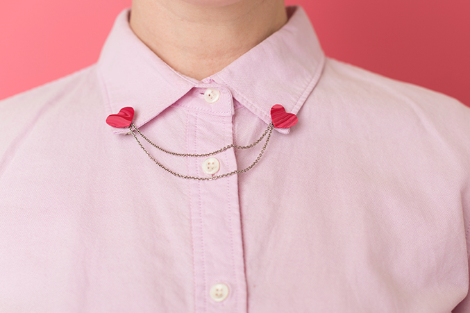 Valentine's Day collar
