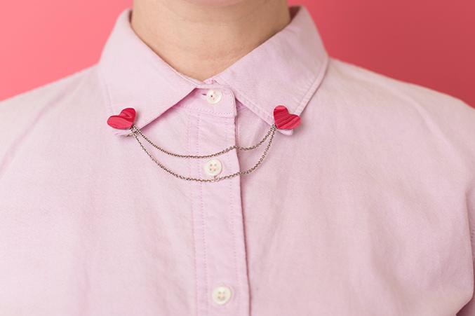 Valentine's Day collar