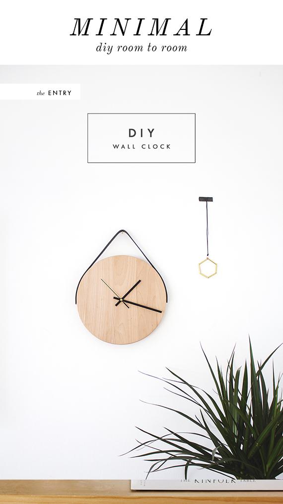 DIY MINIMAL CLOCK