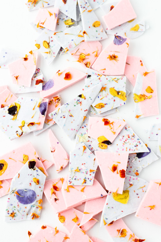 DIY Party style: Edible flowers