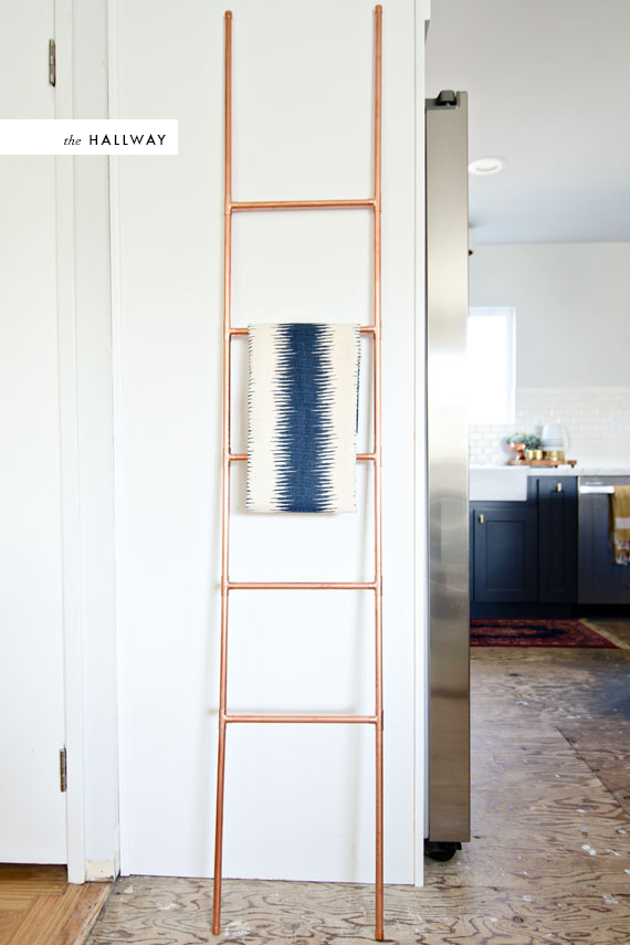 Copper ladder DIY