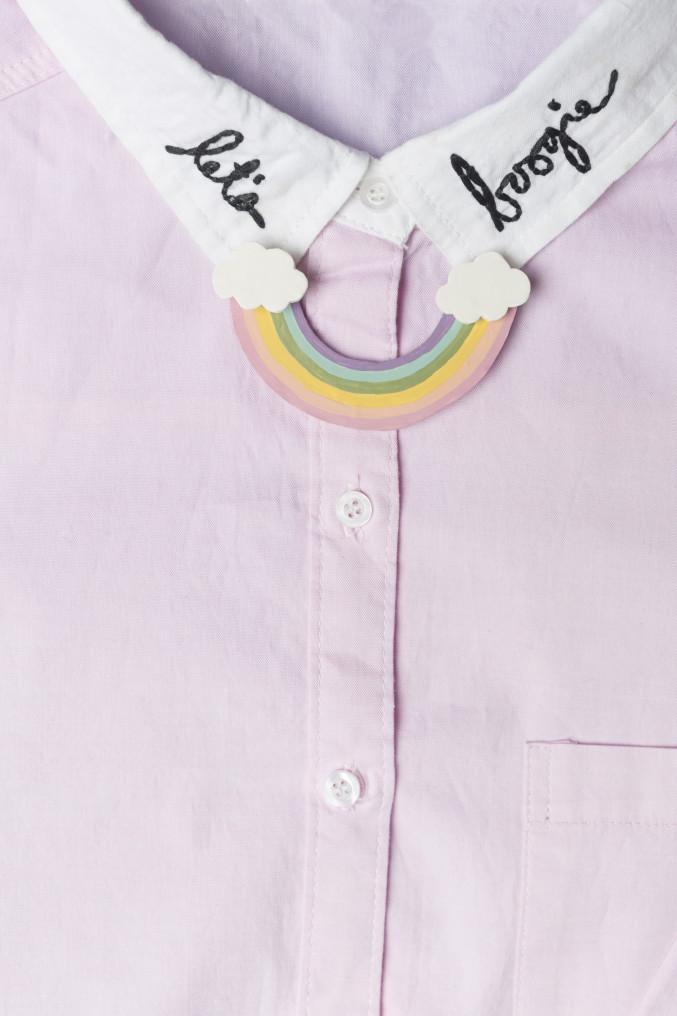 DIY Rainbow Collar