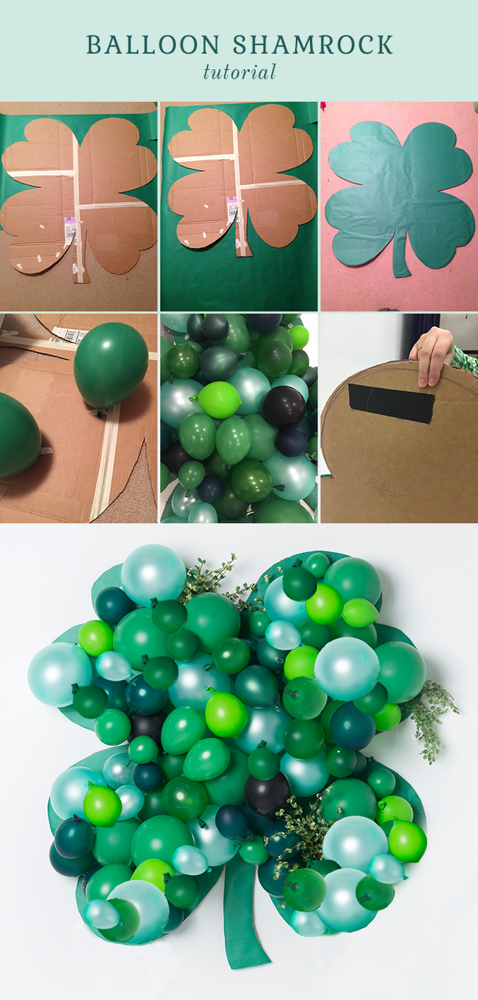 shamrock balloon tutorial