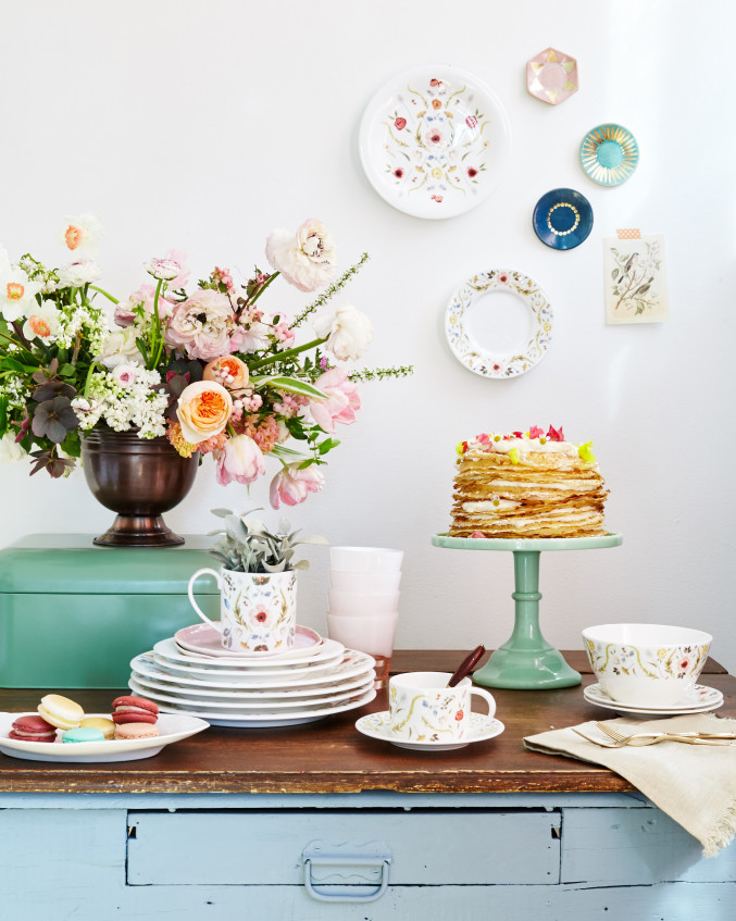 Mother's Day brunch & dinnerware sale