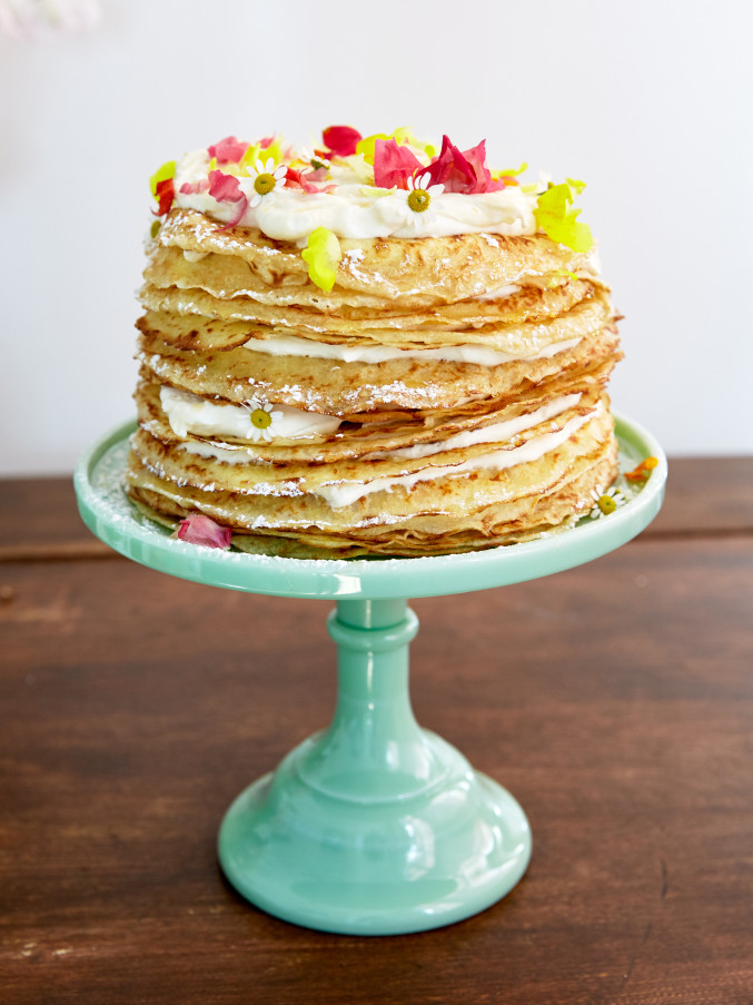 crepe cake recipe for Mother's Day