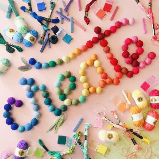 letter the rainbow 12