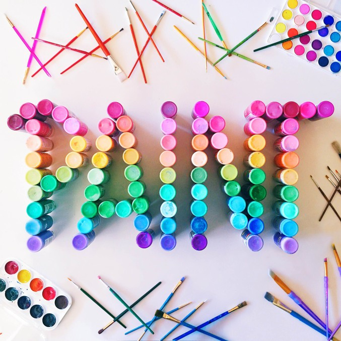 letter the rainbow 14