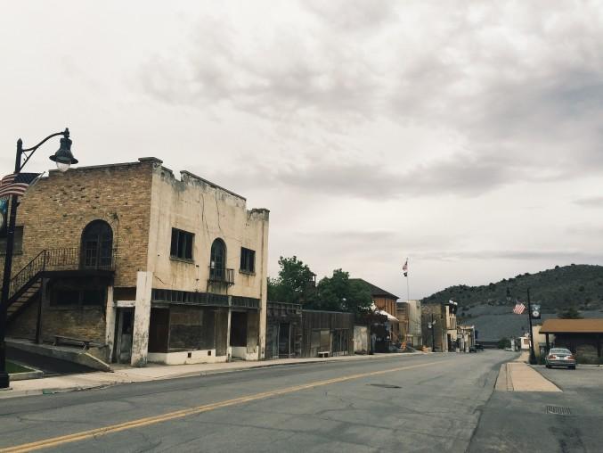 Eureka, Utah, an abandoned mining town