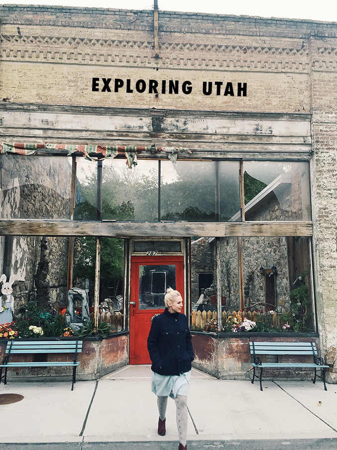 Exploring Utah ghost towns