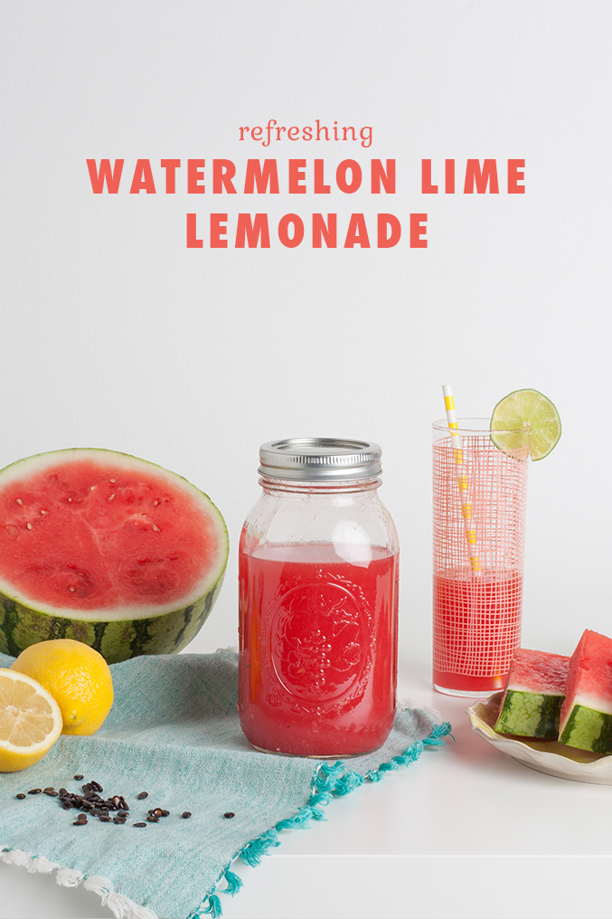 WATERMELON LIME LEMONADE