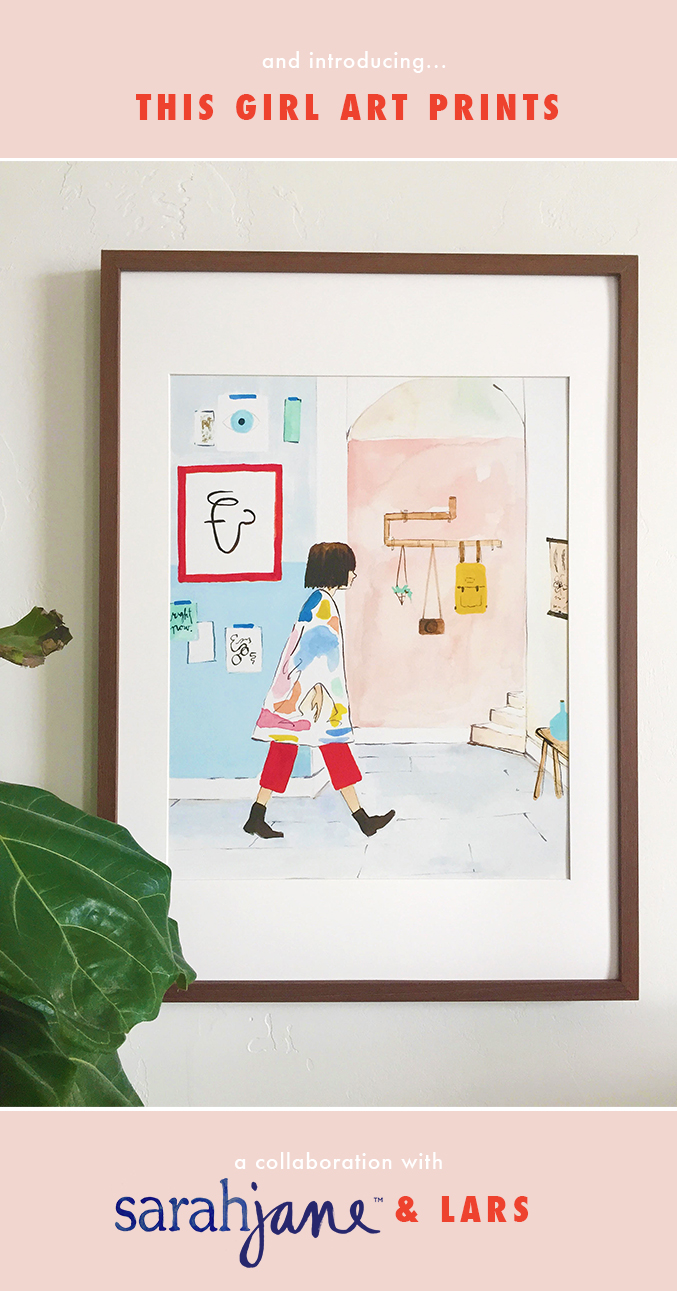 This Girl art prints