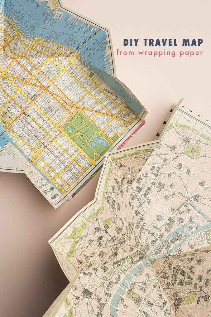 foldable-map-made-from-wrapping-paper