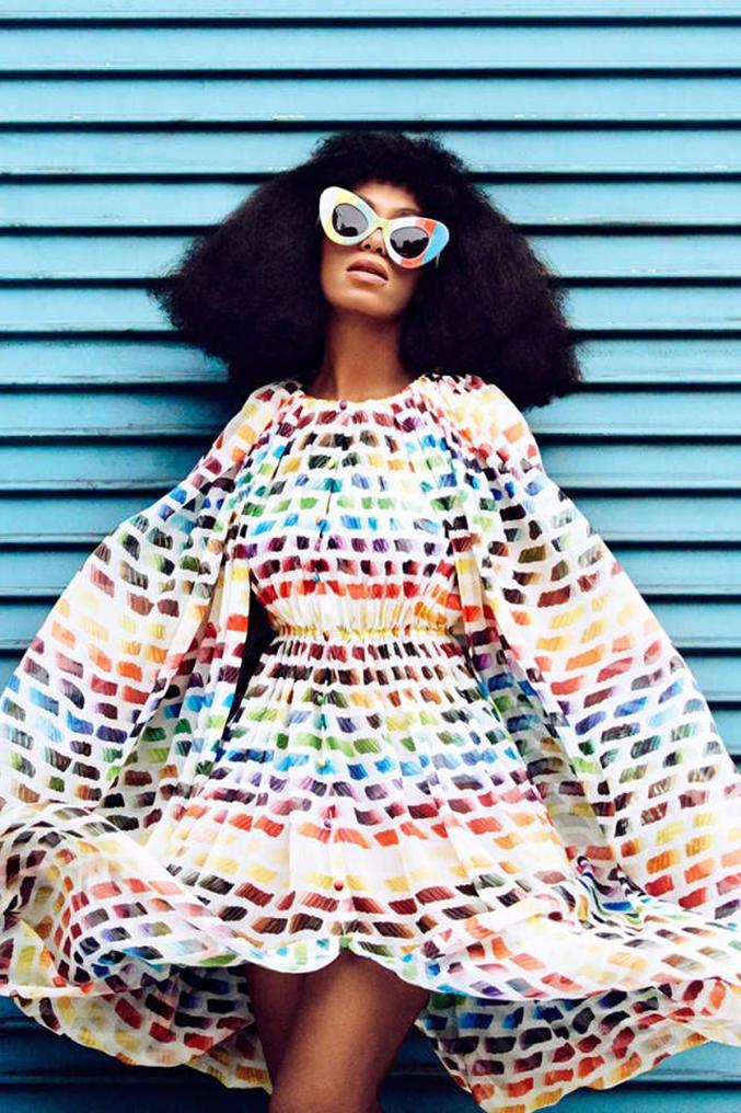 Solange Knowles Harpers Bazaar