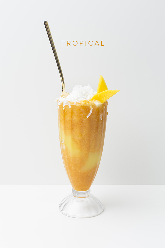 Tropical sundae