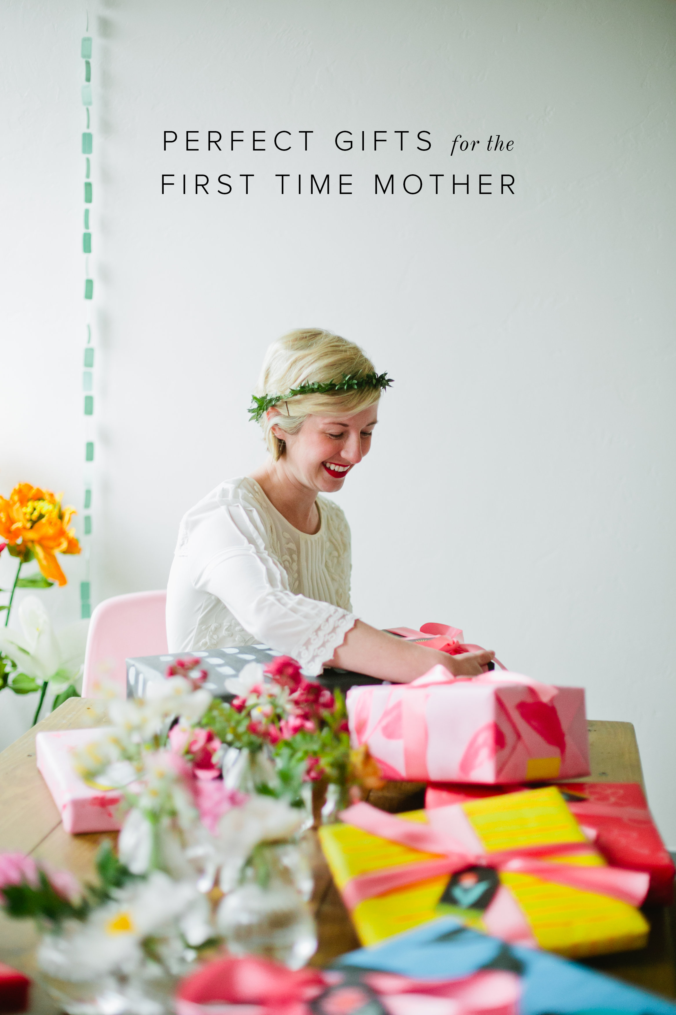 Perfect gifts for the first time mother