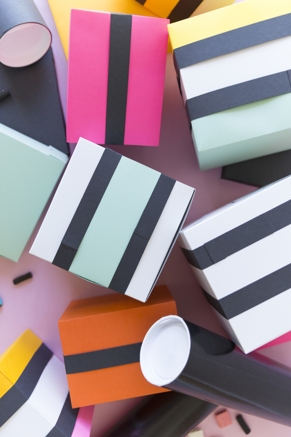 DIY licorice allsorts wrapping paper